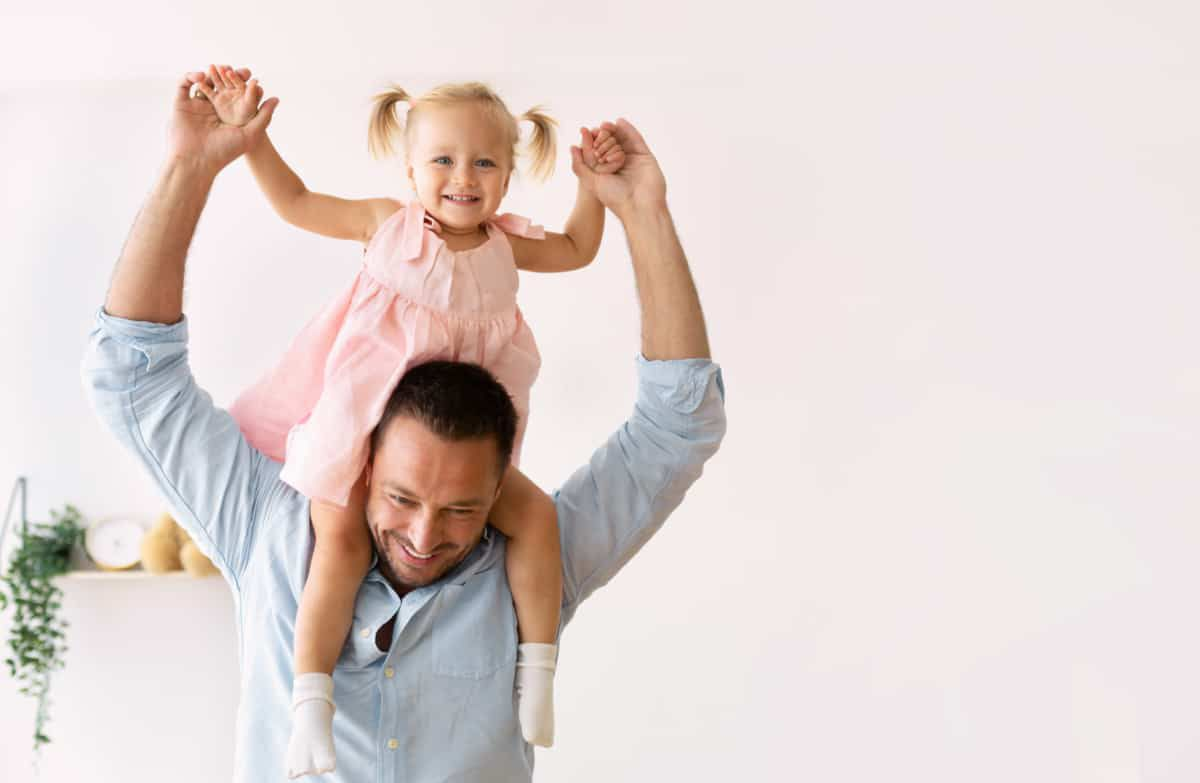 Service Featured Image - father playing with happy daughter